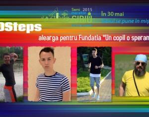 "Guest post: 50Steps alearga pentru Fundatia ""Un copil o speranta"""
