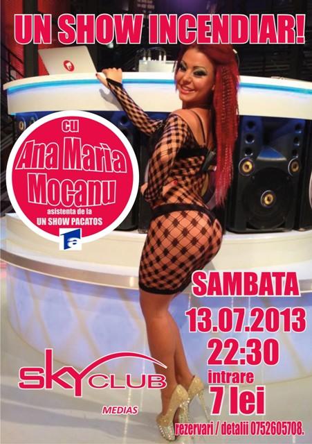 Ana Maria Mocanu, de la emisiunea Un Show Pacatos vine sambata la ...