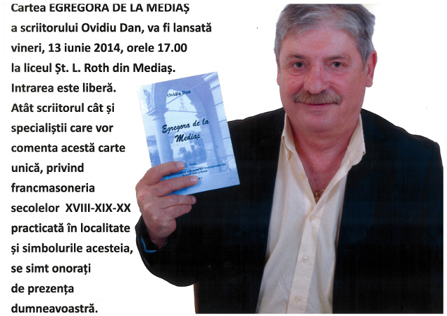 Afis lansare Egregora Medias 2014