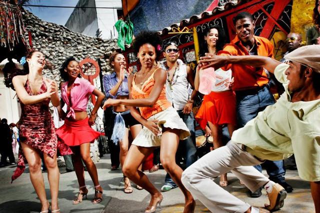 hot latino girl dancing № 490648