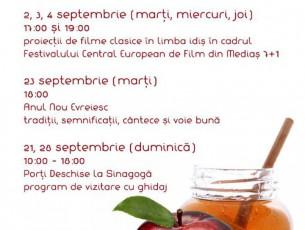 Programul lunii septembrie la Sinagoga Medias