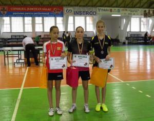 Tenis de masa: Medieseni pe podium la Cupa Romaniei