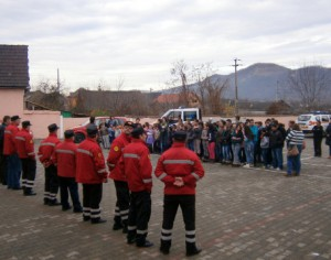 Exercitiu de alarmare la scolile din Copsa Mica