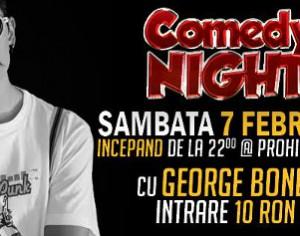 Comedy night cu George Bonea la Medias