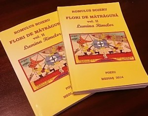 Castiga volumul de poezii Flori de Matraguna – vol. II Lumina Rimelor