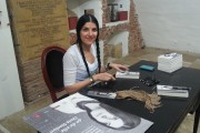 "Galerie foto si video: Chris Simion si-a lansat sambata cartea ""40 de zile"" la Sibiu"