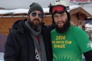 De vorba cu Cosmin Tudoran, despre muzica si snowboard (video)