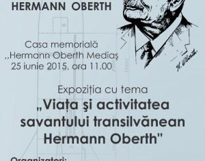 Expozitie la Casa Memoriala Hermann Oberth