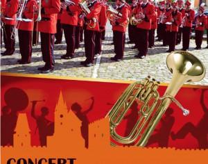 Concert de fanfara in centrul Mediasului