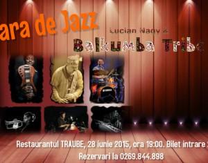 Castiga o invitatie la concertul Lucian Nagy & Balkumba Tribe