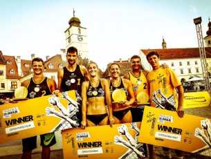 Castigatorii la Sibiu Sands 2015