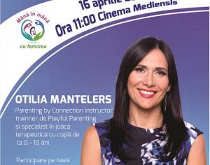 Castiga o invitatie la conferinta Otiliei Mantelers
