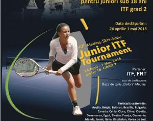 Tenis de camp: 40th Medias-sen-Sibiu JUNIOR ITF 18&U Tournament