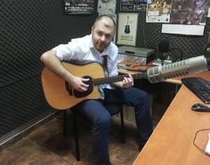 """Marius Matache a prezentat """"Alchimie"""", la Radio Ring"""