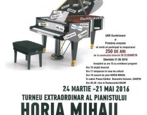 Dumbraveni: Romantic exclusiv. Chopin, cu Horia Mihail