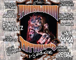 Transilvania Tattoo Expo, in weekend la Sibiu