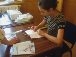 Debut editorial, Karla Mihut (video)