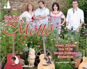 """Concert """"Motto"""", """"Cantecele cenaclului din anii '80"""""""