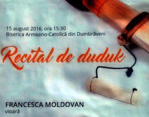 Recital de duduk la Dumbraveni