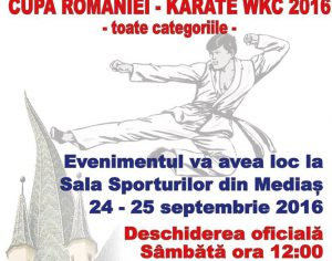 Cupa Romaniei – Karate WKC 2016