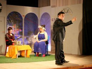 Teatru din Serbia, pe scena Salii Traube