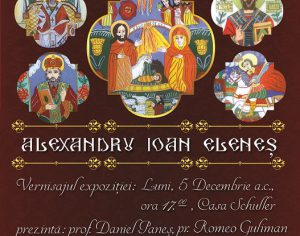Alexandru Ioan Elenes expune la Casa Schuller (video)