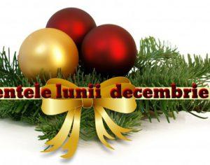Evenimentele lunii decembrie la Medias