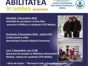 Abilitatea in umbra dezabilitatii, evenimente CITO Medias